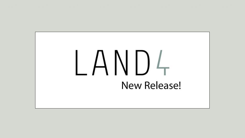 Release news and notes for LAND4 for ARCHICAD 22