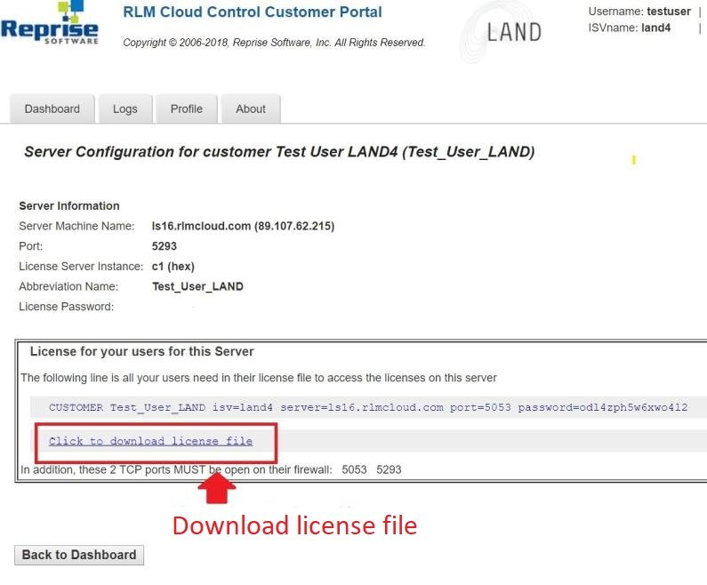 LAND4 for use with ARCHICAD | Online License Server